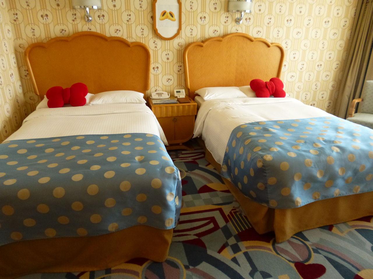 「ミニーマウスルーム」宿泊レポ「アンバサダーホテル」