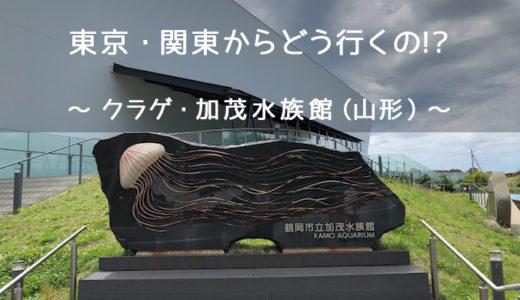 【東京発・アクセス】加茂水族館への車・JR・バス・ツアー【山形駅?】