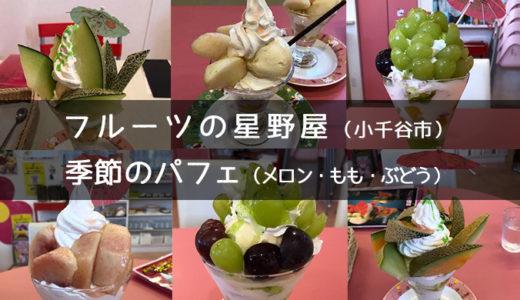 【小千谷市・果実の星野屋】季節のパフェ食べて来ました!【日付あり】